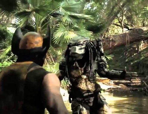 Predator vs Wolverine. Fuente: Youtube