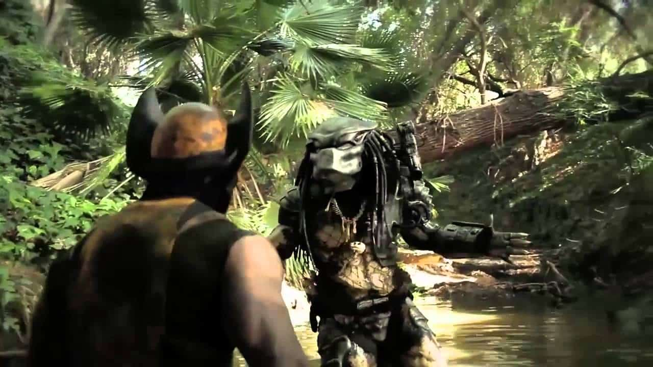 Predator vs Wolverine. Fuente: Youtube