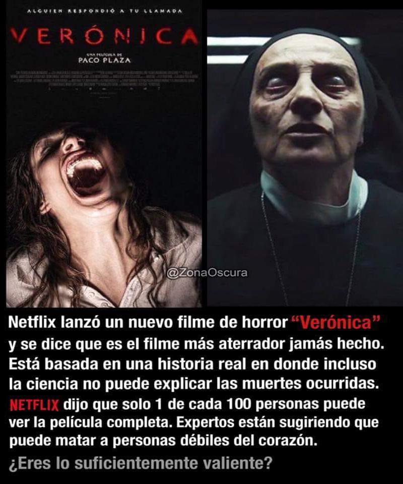 Verónica. Fuente: Facebook.com