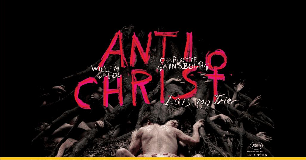 Fragmento del póster de 'Anticristo' de Lars von Trier
