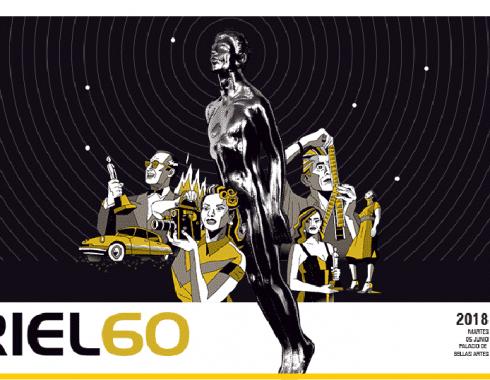 Imagen oficial de la 60 entrega del Ariel 2018