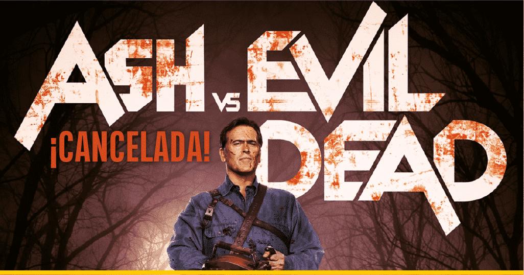 Imagen promocional de la serie Ash vs Evil Dead