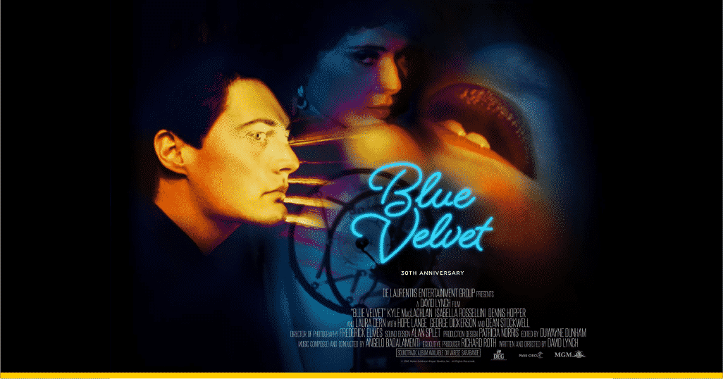 Imagen promocional 30º aniversario 'Blue Velvet'