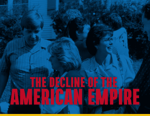 Escena de 'The Decline of the American Empire'