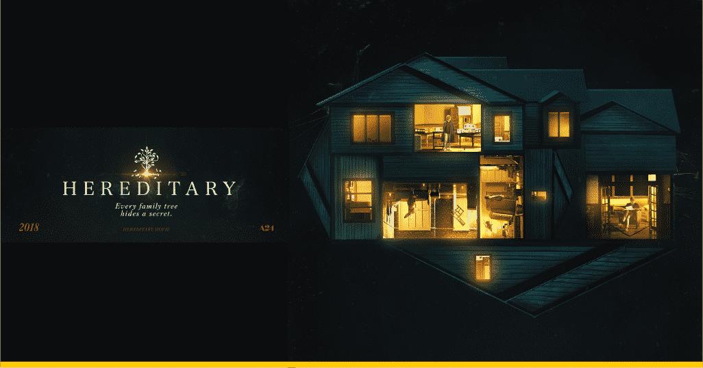 Intervención póster oficial de 'Hereditary'