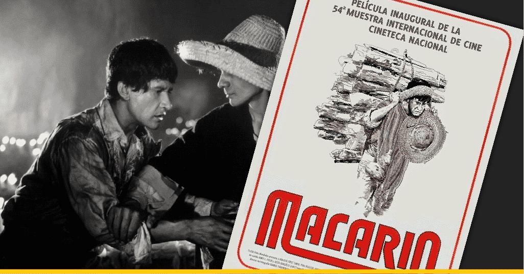 Escena y póster de 'Macario'