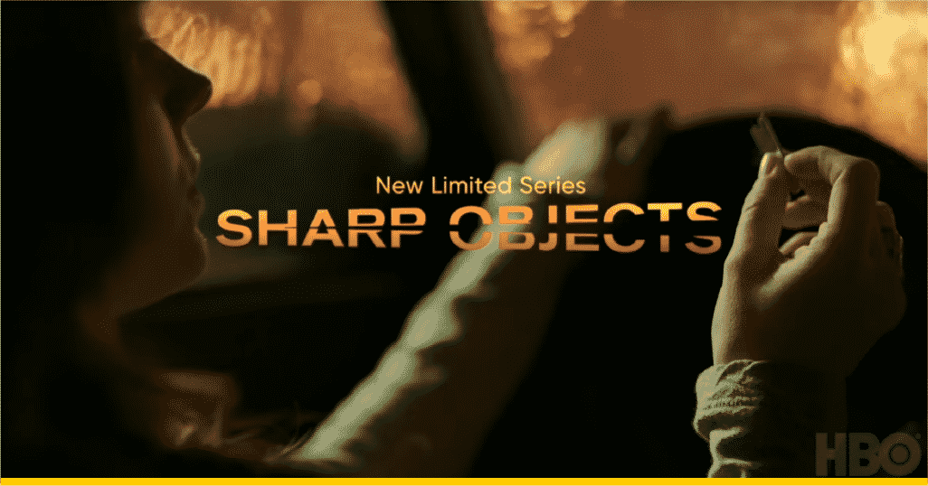 Imagen tomado del teaser trailer de la serie Sharp Objects