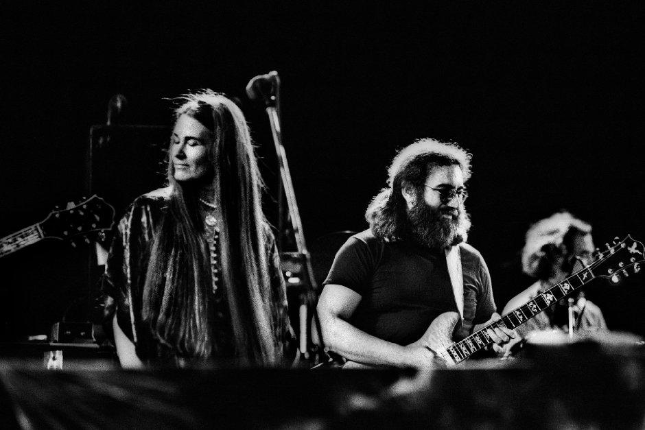 Actuación de la banda previa al fallecimiento de Jerry García