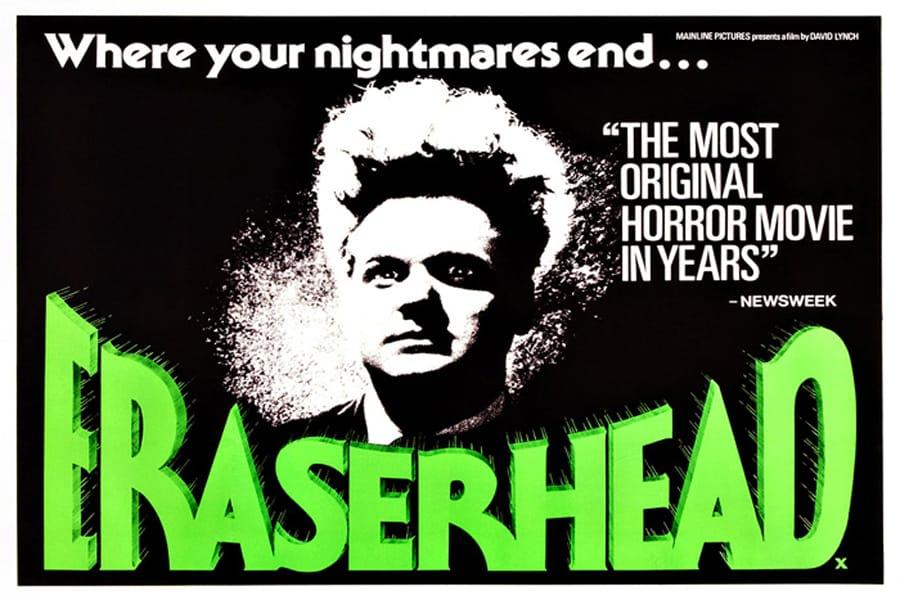 Imagen promocional de Eraserhead