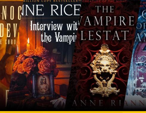 Portadas libros Anne Rice