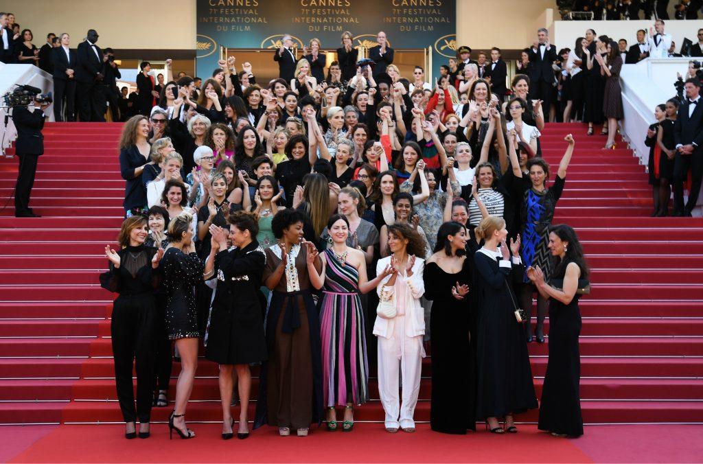 Festival de Cannes, la protesta de 82 mujeres contra la desigualdad. Fuente: El Espectador.com