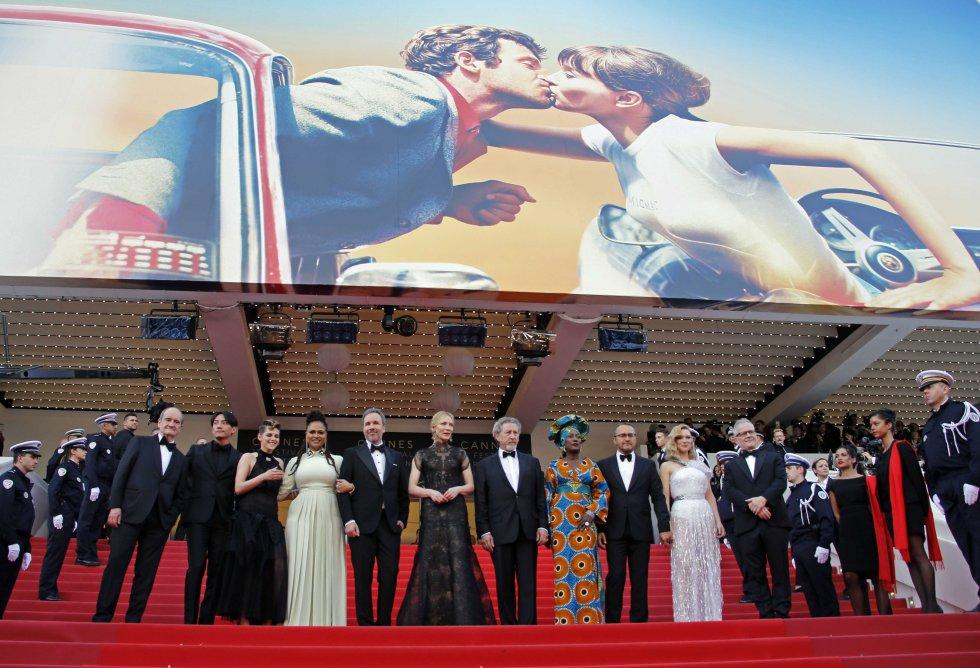Festival de Cannes, jurado. Fuente: The Hollywood Reporter