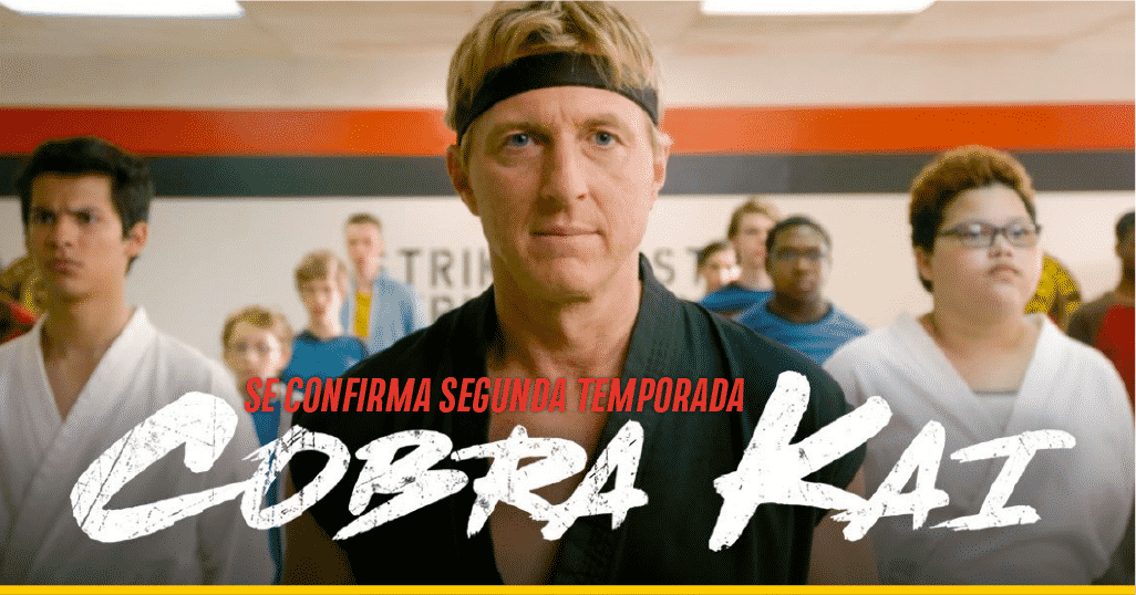 Escensa de la serie 'Cobra Kai'