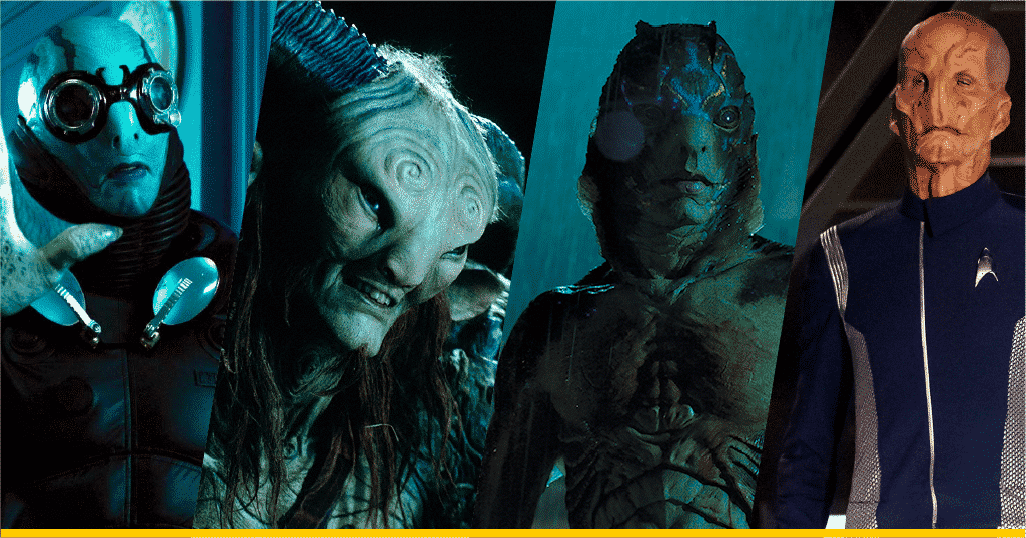 Personajes de Doug Jones