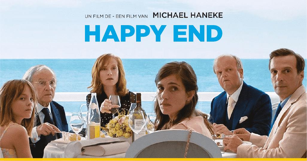 Imagen promocional de 'Happy End' de Haneke