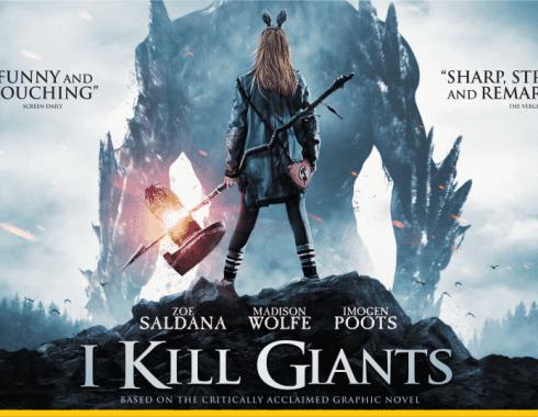 Imagen promocional de 'I Kill Giants'