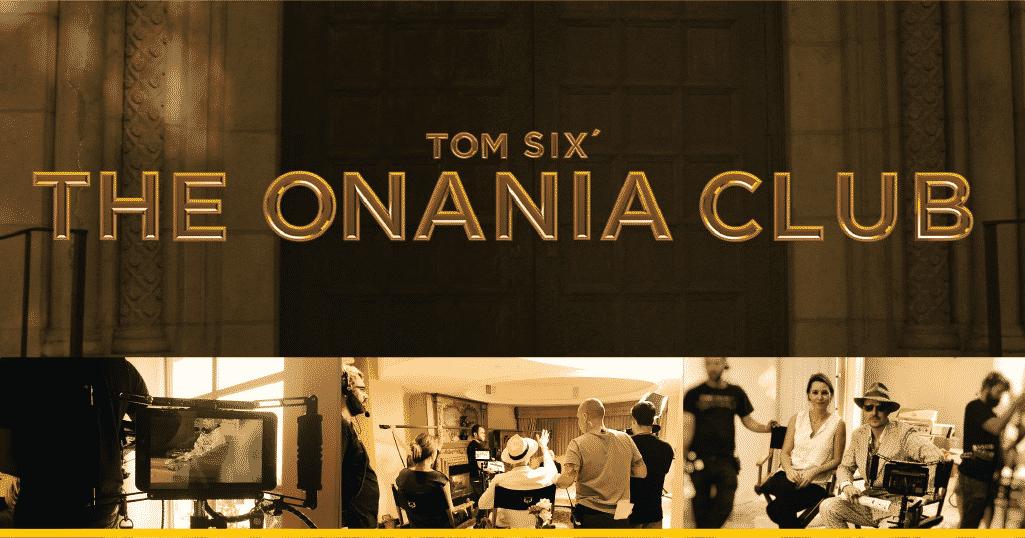 Imágenes detrás de cámaras de 'The Onania Club'
