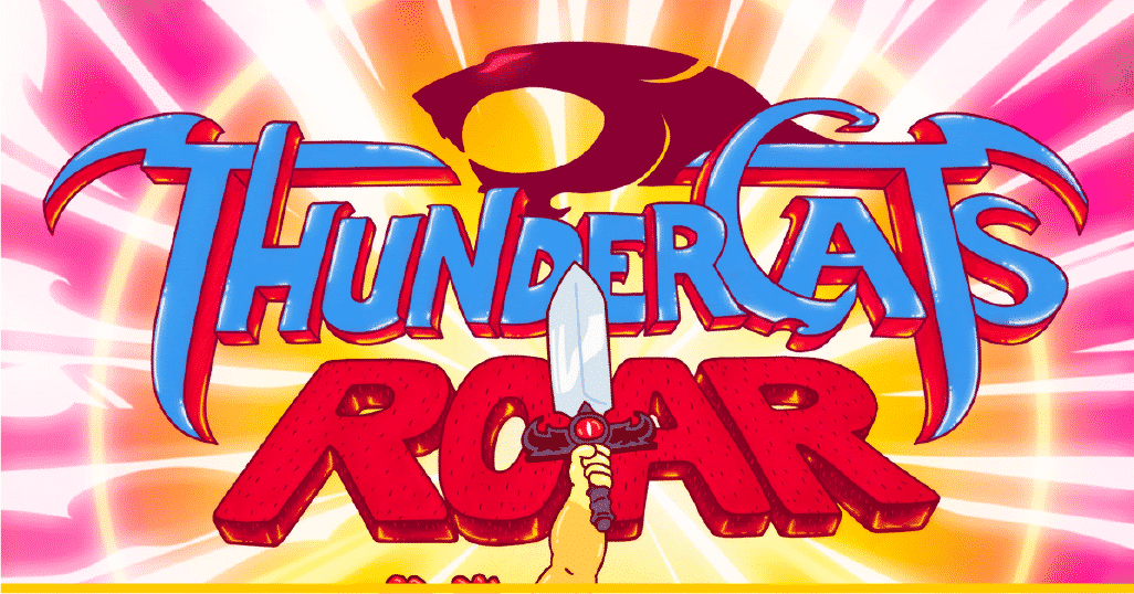 Parte del póster oficial de 'Thundercats Roar'