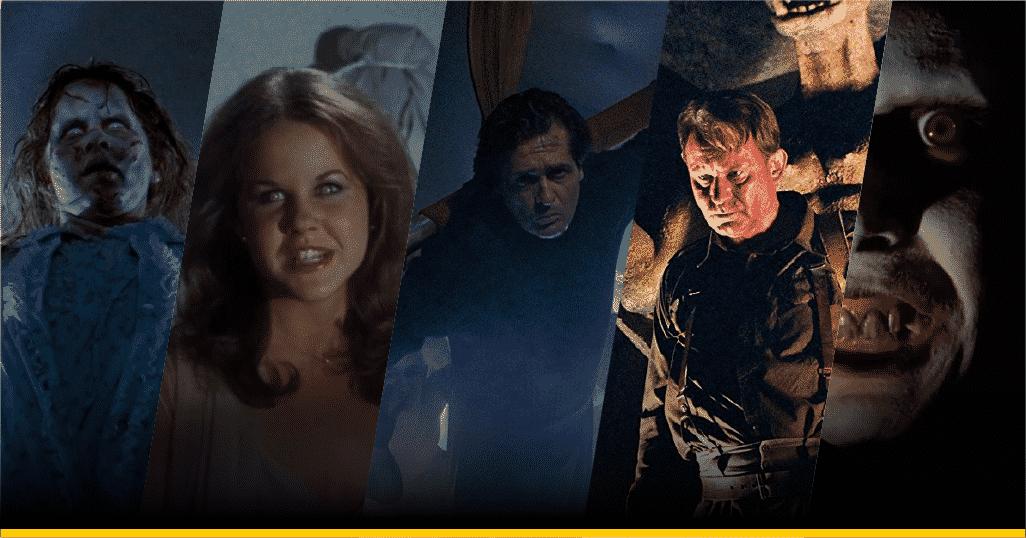 Escenas de las cinco películas de 'El Exorcista'