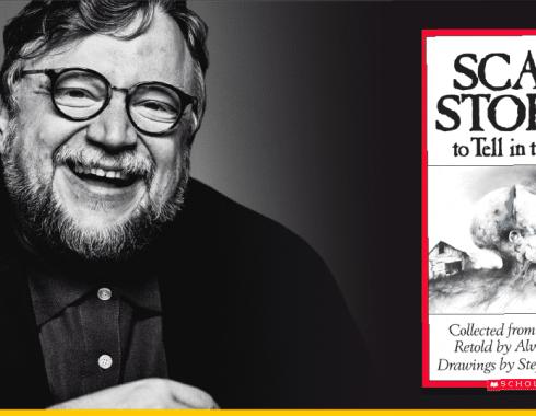 Del Toro y la portada de 'Scary Stories To Tell In The Dark'