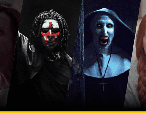 Imágenes de Hereditary, The Purge, The Nun y Suspiria