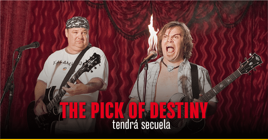Jack Black y Kyla Gass en 'The Pick of Destiny'