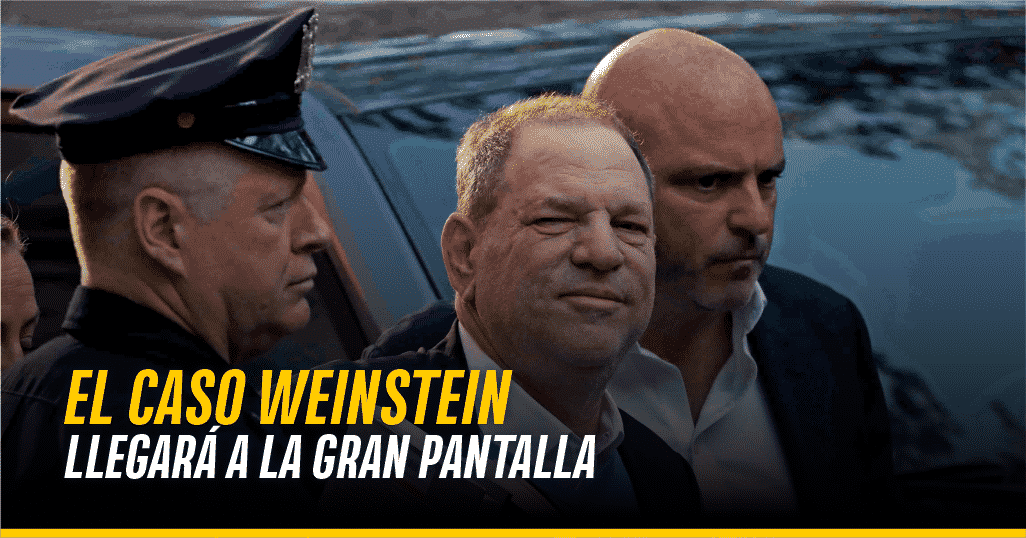 Captura de Harvey Weinstein
