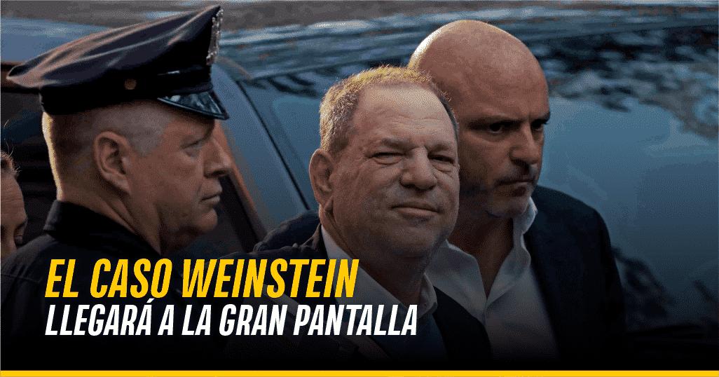 Captura de Harvey Weinstein