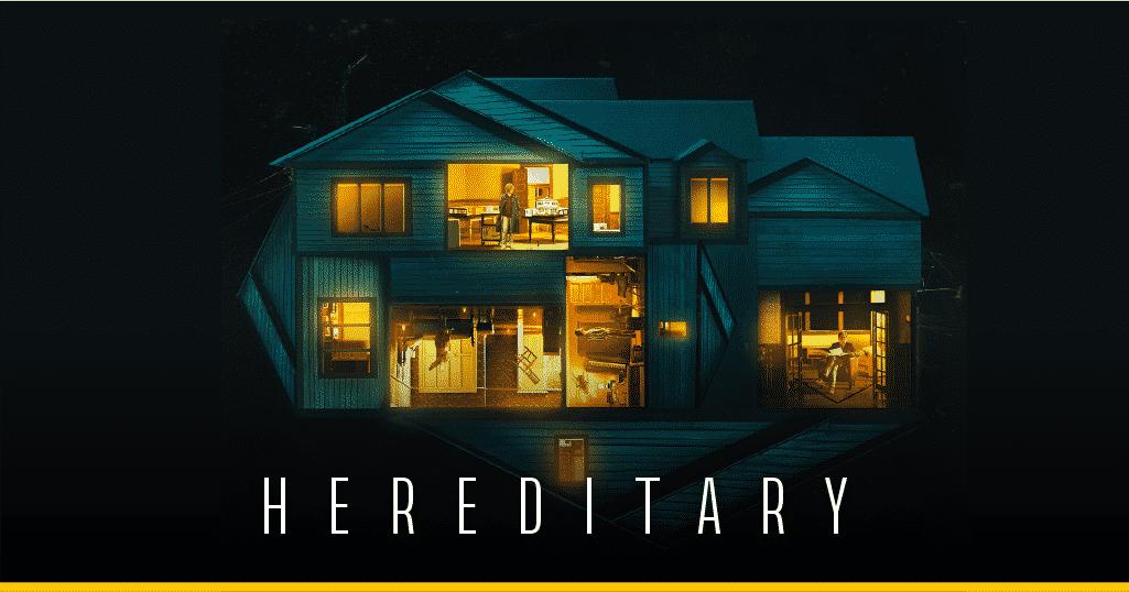 Parte del póster oficial de 'Hereditary'