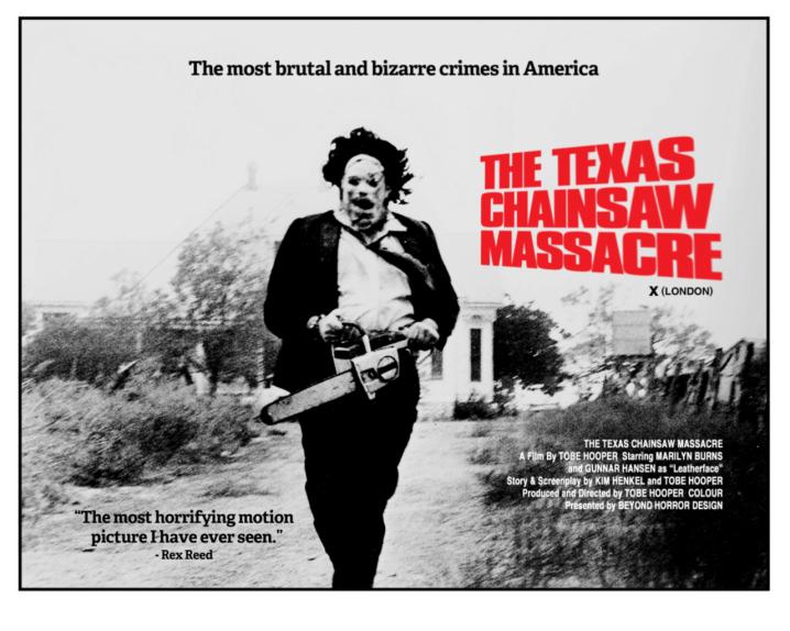 La masacre de Texas, 1974. Fuente: Journeys in darkness and light.com