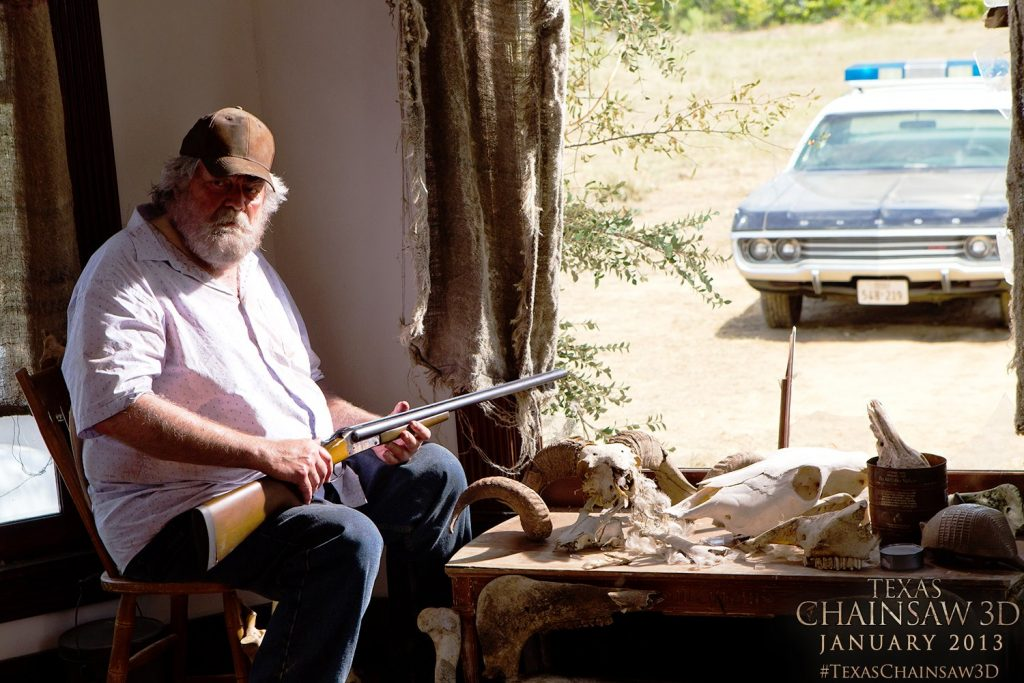 La masacre de Texas: Herencia Maldita. Gunnar Hansen. Fuente: Bloody Disgusting.com