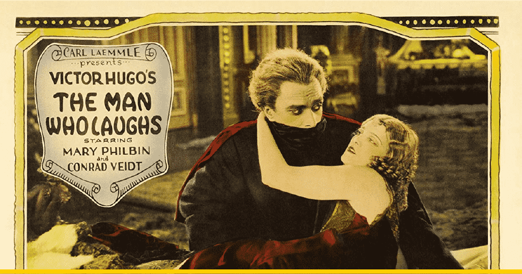 Cartel diseñado para 'The Man Who Laughs' (1928)