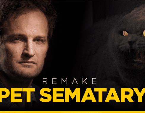 Fotografía de Jason Clarke y escena de 'Pet Sematary'