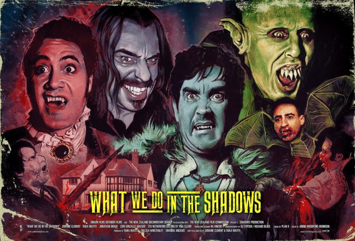What we do in the shadows. Fuente: El septimo podcast.com
