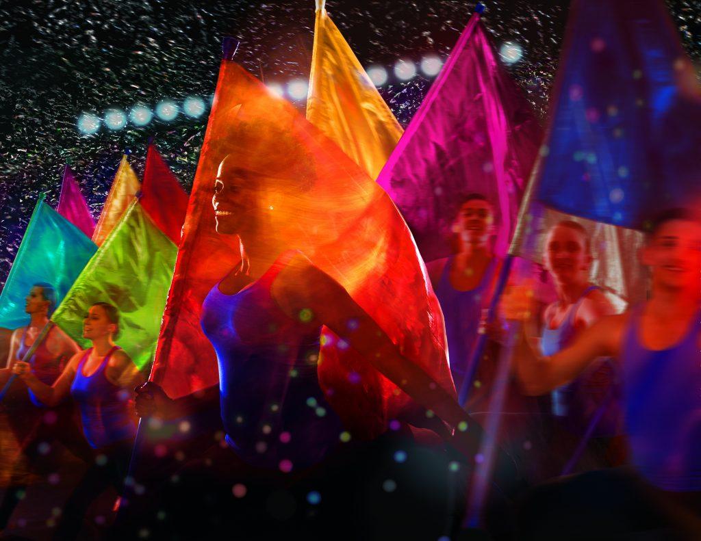 Gracias a la magnífica fotografía, el documental es una fiesta de color