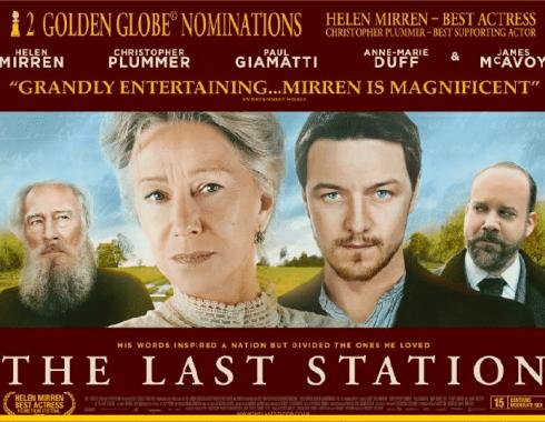 Imagen promocional de 'The Last Station'