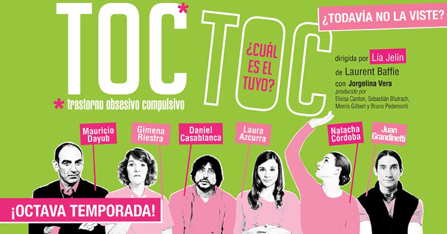 Toc Toc. Obra de teatro. Fuente: Atrápalo.com