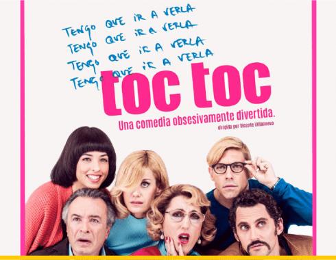Póster promocional 'Toc Toc'