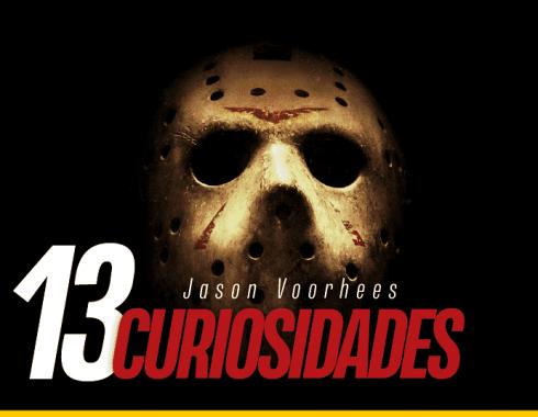 Fotografía de Jason Voorhees con su máscara