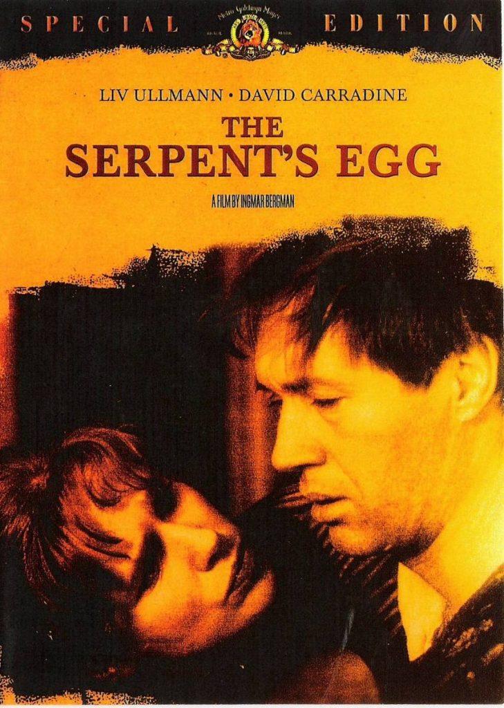 Serpent's egg, Bergman