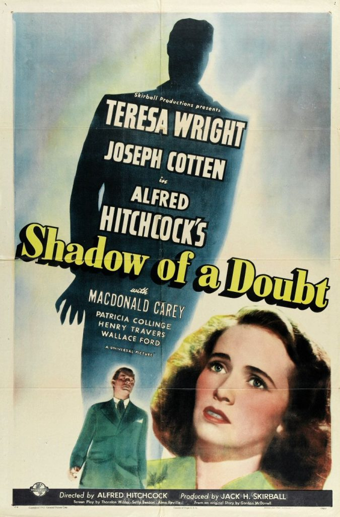 Shadow of a doubt, Hitchcock