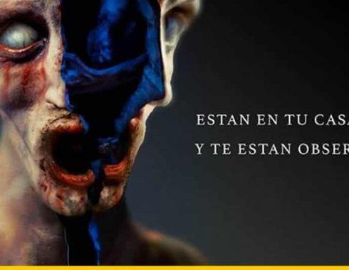Parte del póster de 'Aterrados'