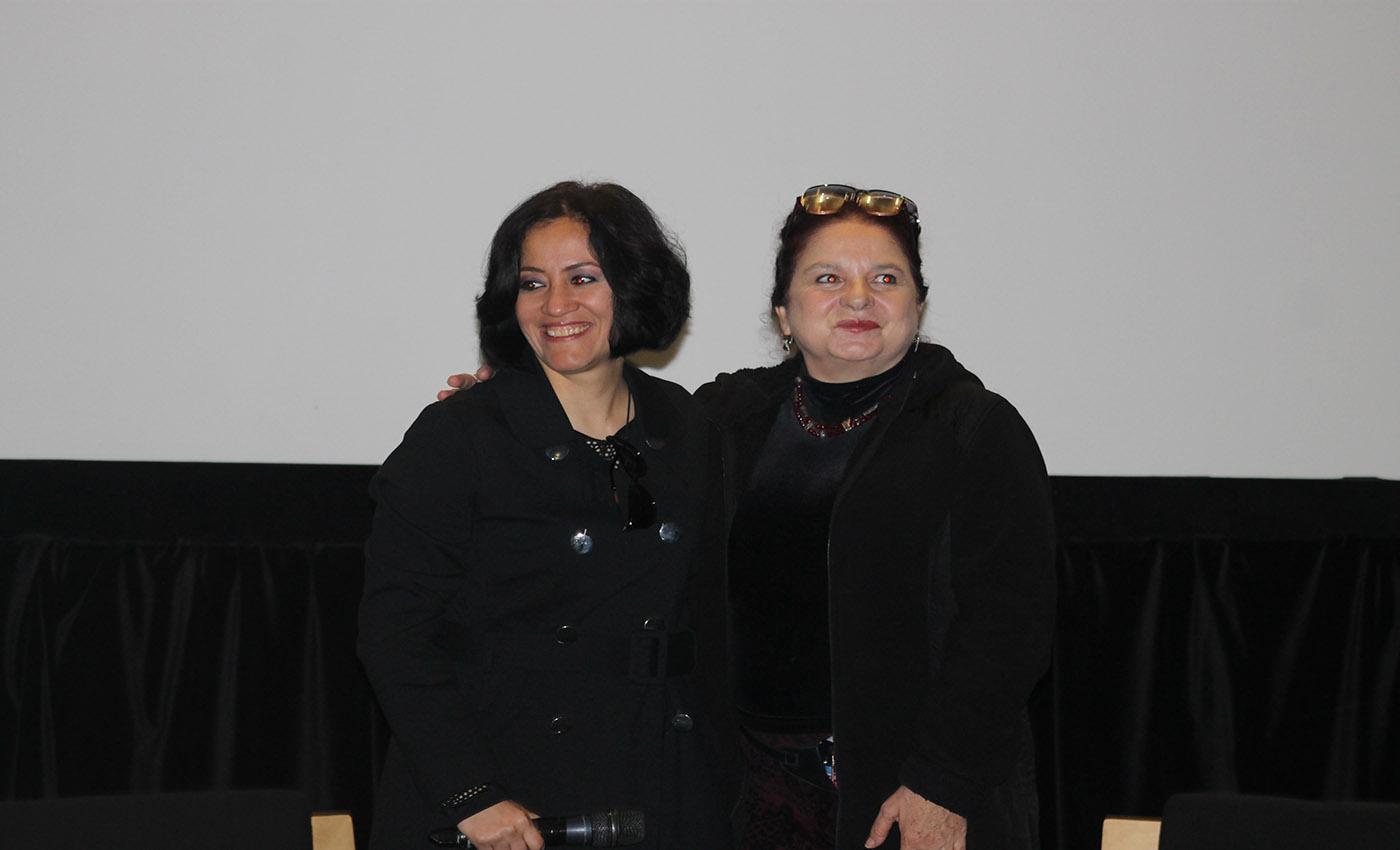 Macabro XVII. Edna Campos (izquierda), Tina Romero (Derecha)