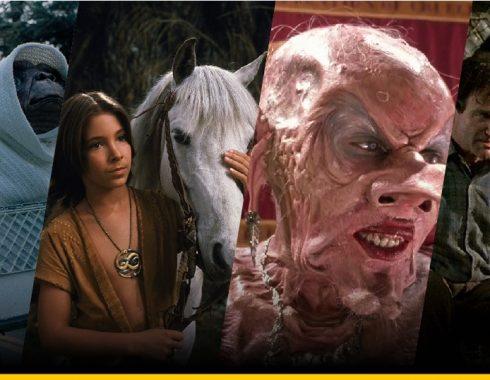 Imágenes de ET, La Historia Sin Fin, Brujas y Jumanji