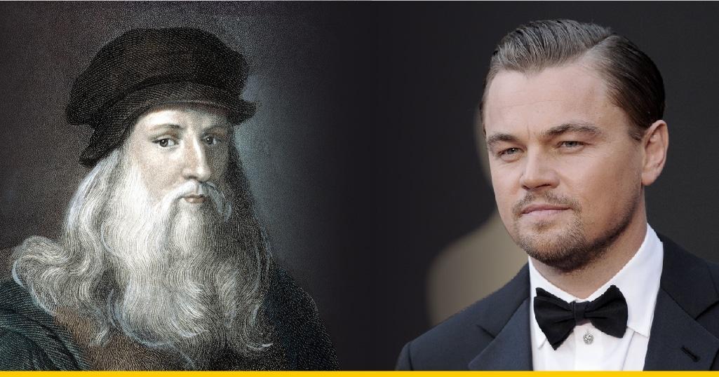 Leonardo DiCaprio y Da Vinci