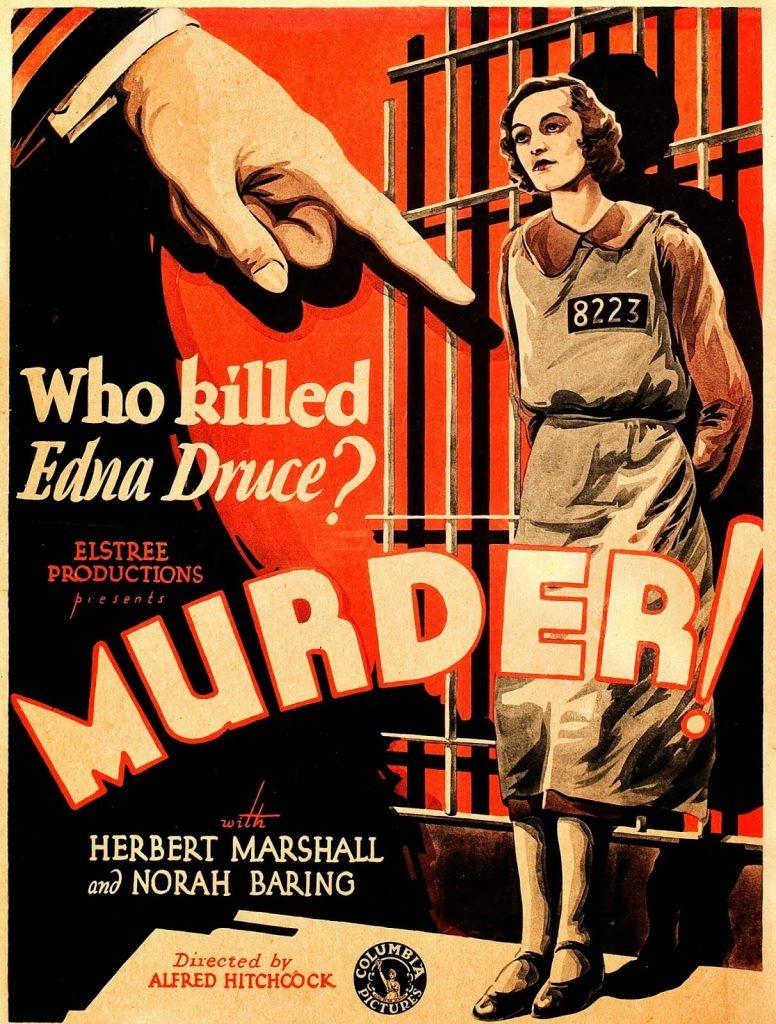 Murder, Hitchcock