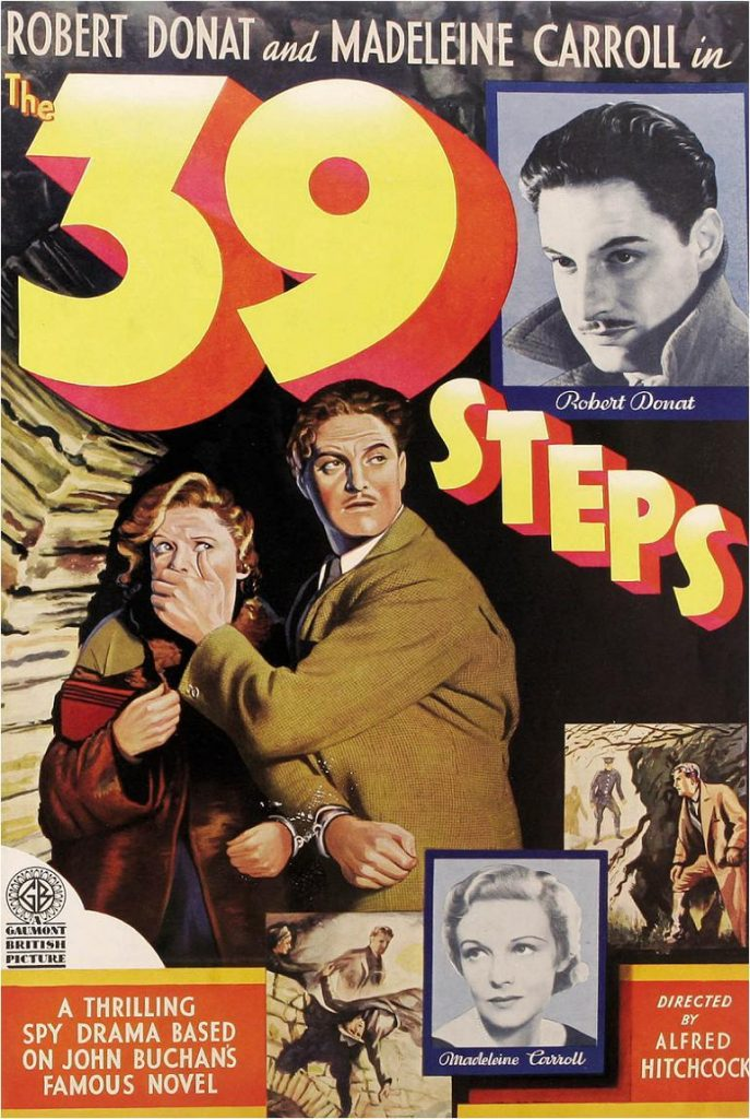 39 steps, Hitchcock
