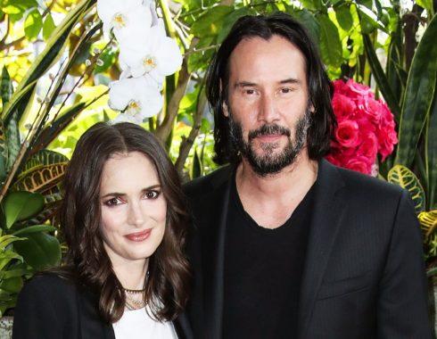 Winona Ryder y Keanu Reeves podrían tener 25 años de casados