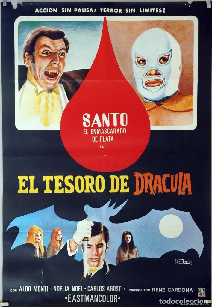 Santo en el Tesoro de Drácula/ El vampiro y el sexo