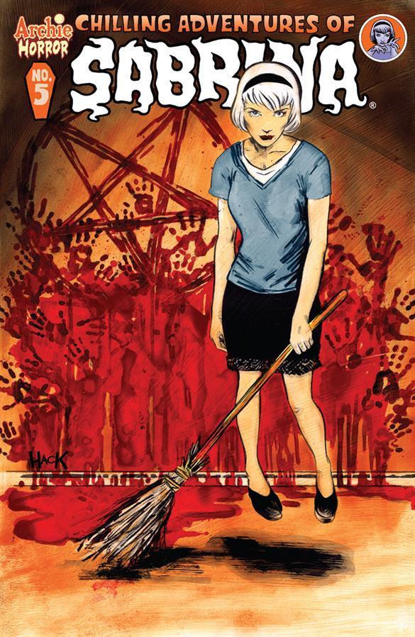 Chilling Adventures of Sabrina. Fuente: Archie Comics Shop.com